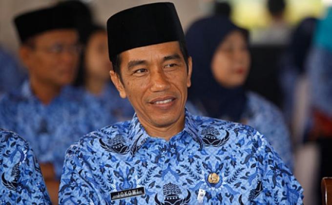Jokowi Bangun Masjid Bergaya Betawi di Daan Mogot