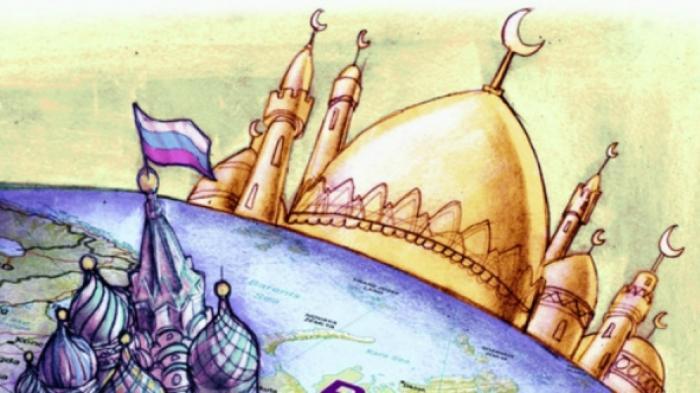 Rusia Bangun Masjid Terbesar