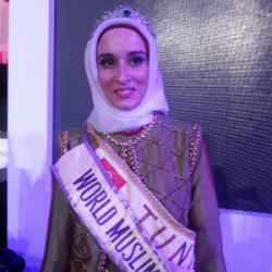 Miss Tunisia Jadi Jawara di 'Gadis Muslimah Dunia 2014'