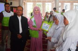 Sarah Vi Jadi Duta Masjid Nusantara