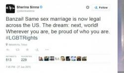 Gegara Dukung Pernikahan Sesama Jenis, Sherina Munaf Dibully Netizen