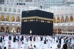 Suhu Makkah 30 Derajat, Masjidil Haram Dipadati Jamaah