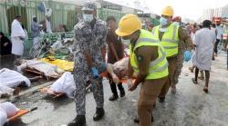 Korban Meninggal Tragedi Mina Lebih dari 700 Orang
