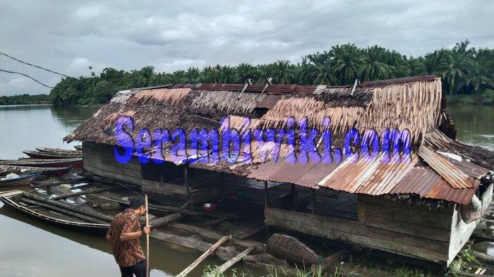 Lampung, Pelabuhan Terapung Sungai Souraya Sisa Peradaban Singkil Masa Lalu