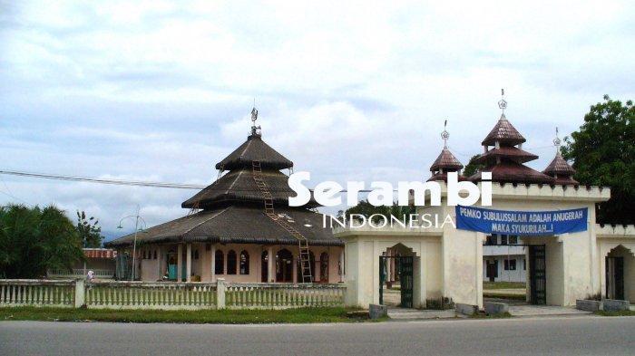 Asilmi, Masjid Warisan Soeharto di Kota Subulussalam, Selalu Ramai Jamaah - masjid-pancasila.jpg