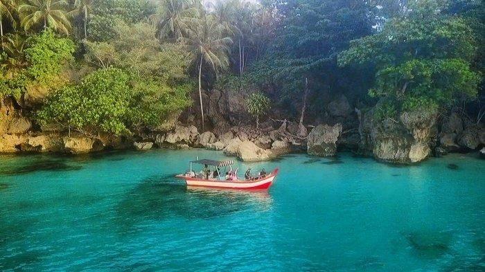 Pesona Wisata Ujung Batu di Pulau Banyak Aceh Singkil, 'Kolam Surga' dan Kisah Legenda Perahu Pecah