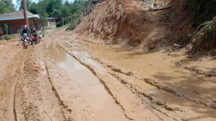 Jalan Bak Kubangan Kerbau, Wabup Mamasa: Anggarannya Dialihkan untuk Penanganan Covid-19
