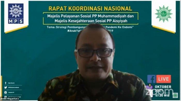 Andie Megantara Deputi Bidang Koordinasi Peningkatan Kesejahteraan Sosial Kemenko PMK