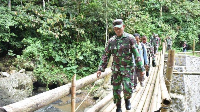 Jalankan Program TMMD ke-111, Kodim 1402/Polman Akan Perlebar Jalan di Desa Kunyi Mulai 15 Juni