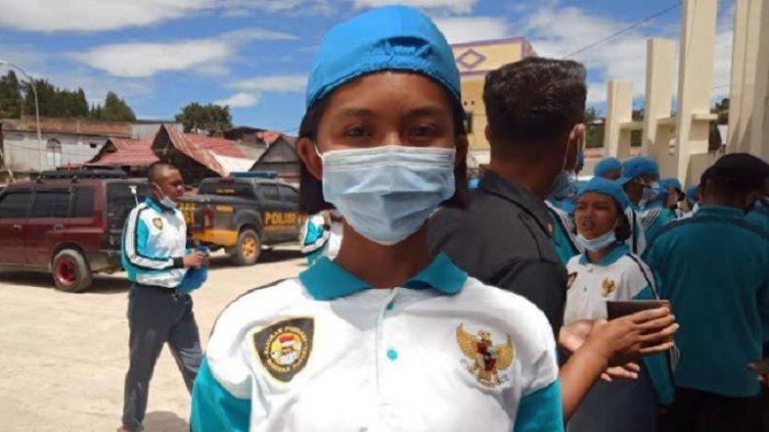 Profil Elga, Pembawa Baki Paskibraka Kabupaten Mamasa 2021