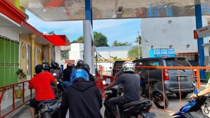 Stok BBM Berkurang, SPBU Kali Mamuju Batasi Pembelian Menggunakan Jeriken