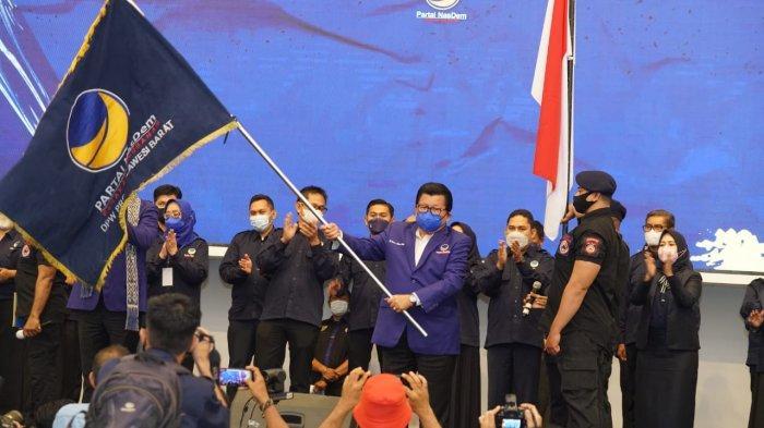 Usai Dilantik Sebagai Ketua DPW NasDem Sulbar, Ini Tugas Utama Anwar Adnan Saleh