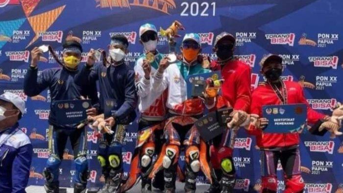 Tiga Atlet Sulbar Raih Medali Wakili Provinsi Lain di PON XX Papua