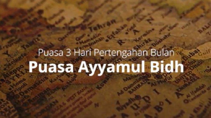 Bacaat Niat Puasa Ayyamul Bidh, Puasa Tiga Hari Seperti Puasa Setahun dan Doa Buka Puasa