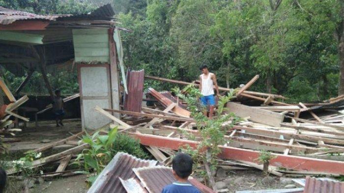Bangunan Sekolah Madrasah Ibtidaiyah di Bulo Ambruk, Ini Dilakukan Kemenag Polman