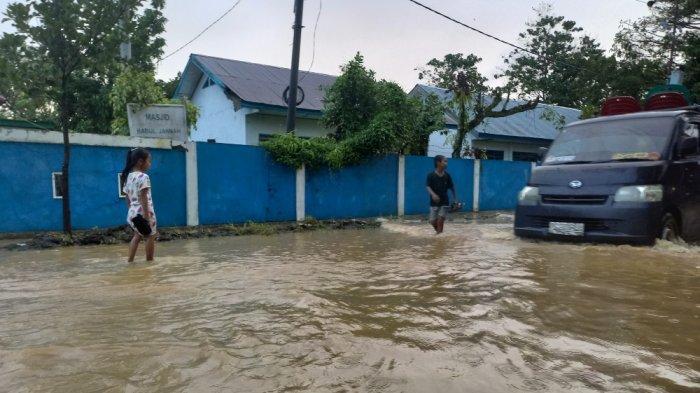 Kanal Dangkal Picu Banjir di Puncak Selatan Mamuju Setiap Hujan Deras