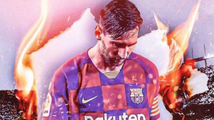 Lionel Messi Tinggalkan Barcelona, Ini Daftar Klub Calon Destinasi BaruMessi