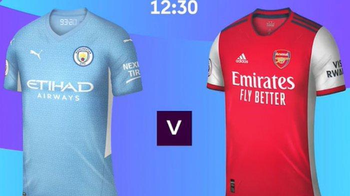 Big Match Liga Inggris Malam Ini Manchester City vs Arsenal, Live Streaming Mola TV