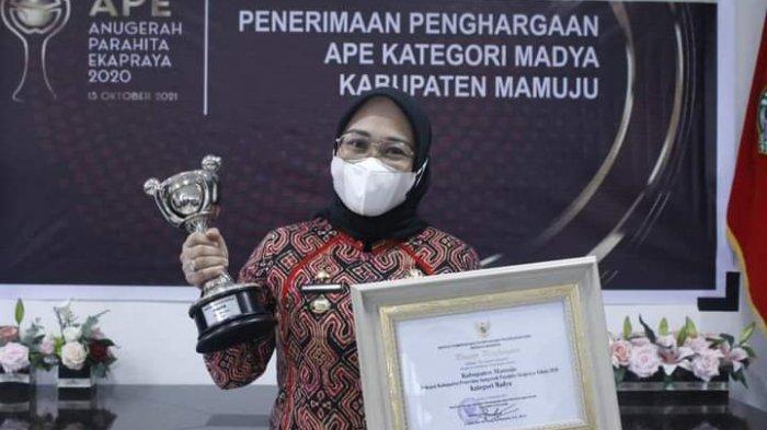 Pemkab Mamuju Raih Penghargaan Anugerah Parahita Ekapraya Tingkat Madya