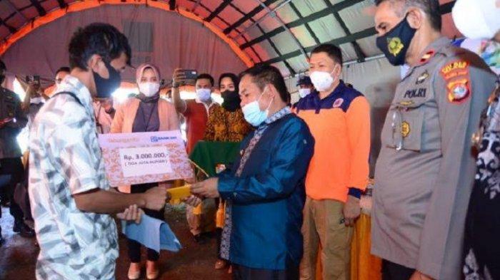 Warga Terdampak Gempa Bumi di Majene Terima Bantuan DTH Rp 500 Ribu Perbulan