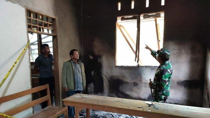 Bupati Mamasa Ramlan Badawi Janji Bantu RehabilitasiGereja Dibakar Oknum Warga