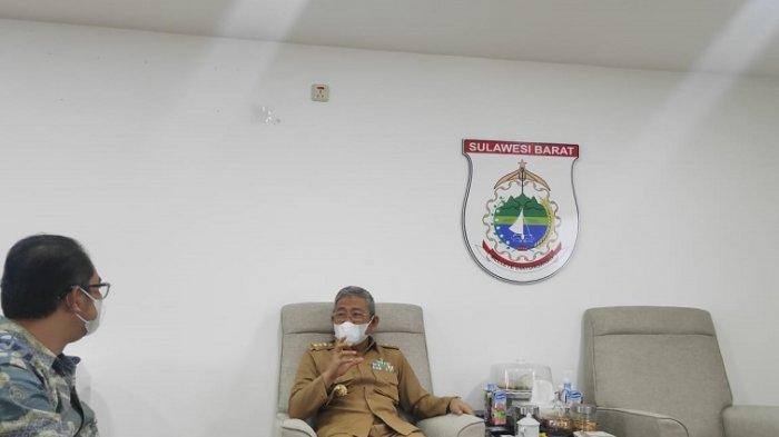 Gubernur Ali Baal Masdar ke Tribun-Sulbar.com: Bantu Sebarluaskan Potensi Sulbar