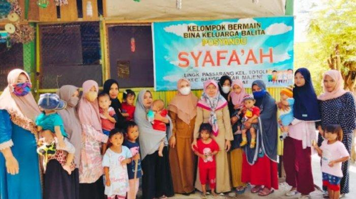 Cegah Stunting, DPPKB Majene Bekali Kelompok Bina Keluarga Balita Pertolongan Pertama pada Bayi