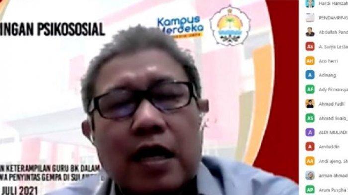 FKIP Unsulbar Gandeng Guru BK Beri Trauma Healing Pelajar Penyintas Gempa di Sulbar