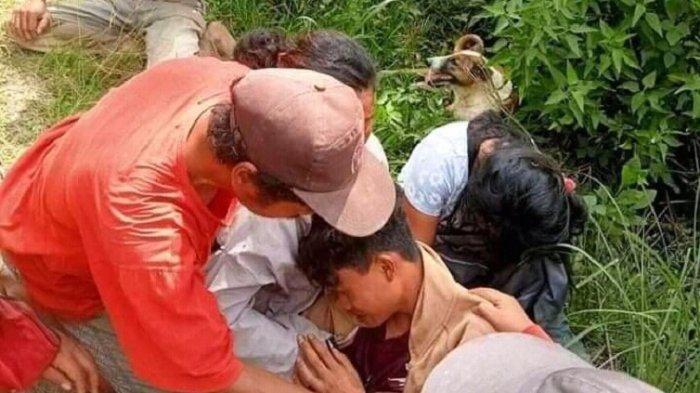 Tangis Derianto Warga Sirope Mamasa Pecah Liat Rumahnya Ludes Dilalap Api