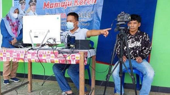Disdukcapil Mamuju Jemput Bola Perekaman e-KTP & KK untuk Masyarakat Pedalaman