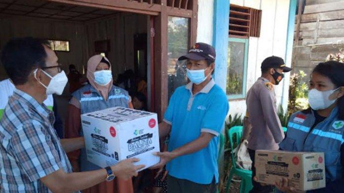 Dinkes Sulbar Sumbang Makanan Tambahan untuk Balita dan Bumil Korban Bencana Mamasa