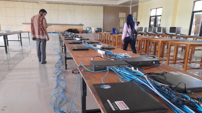 BKD Sulbar Pinjam Laptop Sekolah untuk Tes SKD CPNS 2021