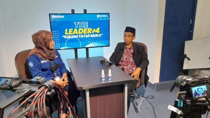 Rektor Universitas Muhammadiyah Mamuju Jadi Bintang Tamu The Leader Tribun-Sulbar.com