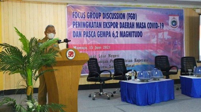 Tingkatkan Produk Ekspor Daerah, Gubernur Sulbar Minta Perizinan Pelaku Usaha Dipermudah