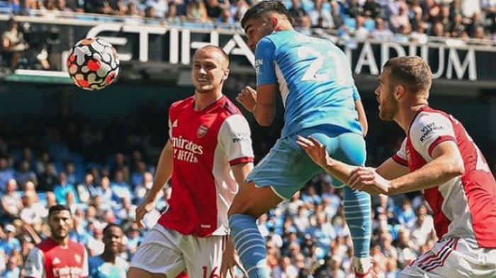 Hasil Liga Inggris, Manchester City Gulung Arsenal, The Gunners Terpuruk di Dasar Klasemen