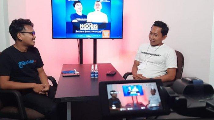 Founder Mawo Salon, Hendra Berbagi Cerita Bangun Bisnis di Studio Tribun-Sulbar.com