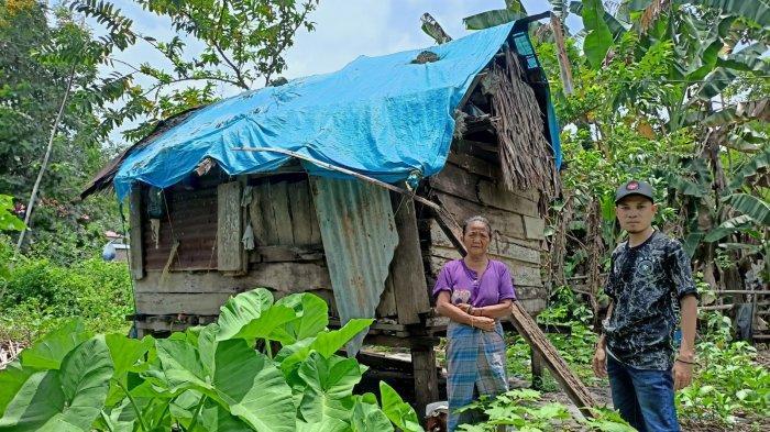 Ibu Jane, Warga Ulumanda Majene Tinggal Sebatang Kara di Gubuk Reyot