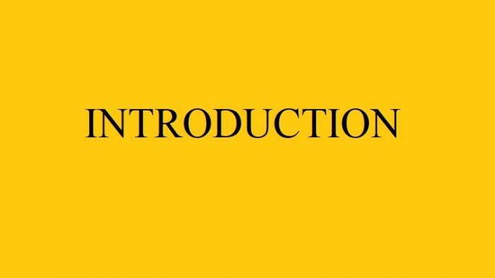 BAHASA INGGRIS: Memperkenalkan Diri Mulai dari Nama Umur hingga Pekerjaan