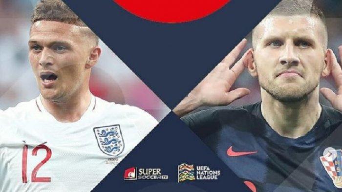 Jadwal EURO 2020 dan Prediksi Inggris vs Kroasia, Aroma Balas Dendam Three Lions