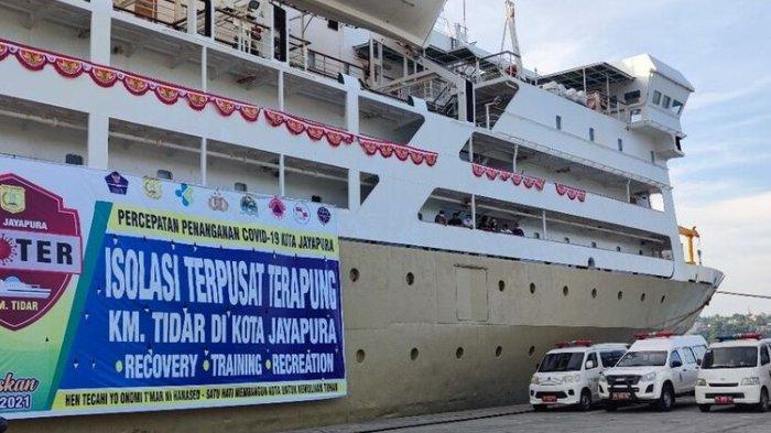 KM Tidar Akan Dijadikan Tempat Isolasi Terapung di Perhelatan PON Papua