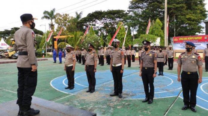 Hari Bhayangkara ke-75, 54 Personil Polres Polman Naik Pangka