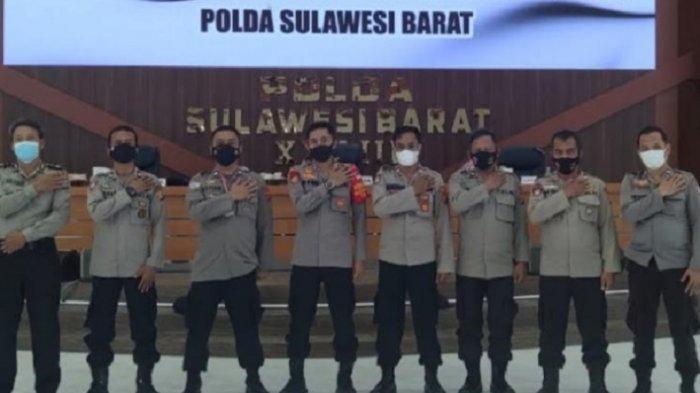Tujuh Anggota Polisi di Polman Lolos Pendidikan Perwira Alih Golongan