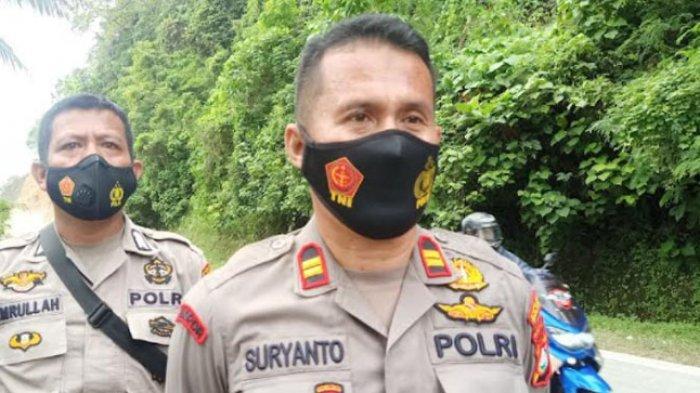 Kapolsek Sendana Minta Warga Patuhi Jadwal Buka Tutup Jalan di Tubo Sendana Majene