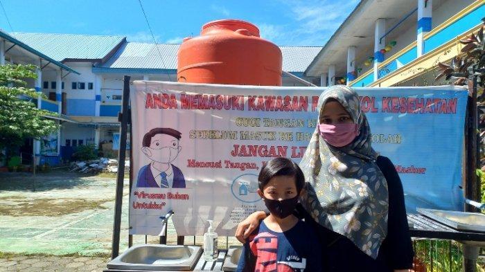 Orangtua Siswa SD Rimuku Mamuju Dukung PTM Segera Digelar Walau Masih Khawatir
