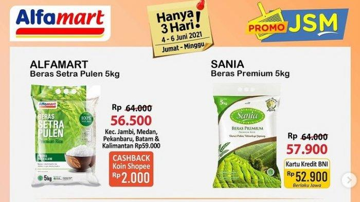 Katalog Promo Alfamart 4 Juni 2021: Beras, Minyak Goreng, Pasta Gigi & Susu Bayi Turun Harga