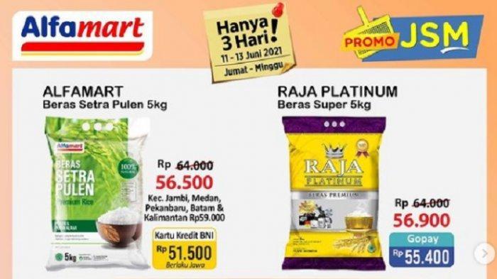 Katalog Promo Alfamart Hari Ini Jumat 11 Juni 2021: Camilan, Susu hingga Minyak Goreng Turun Harga