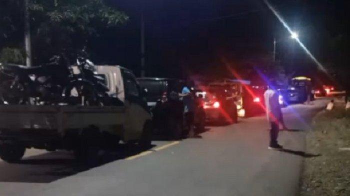 Truk Besar Sudah Bisa Lewat di Jalan Trans Sulawesi Desa Onang Majene