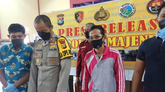 Diduga Sebar Informasi Bohong Soal Vaksin, Kades Buttu Pamboang Majene Diciduk Polisi
