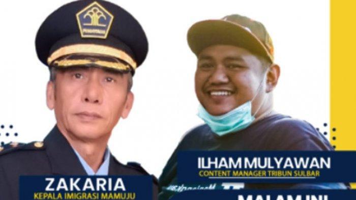 Kepala Imigrasi Mamuju Zakaria Bintang Tamu The Leader Tribun-Sulbar.com