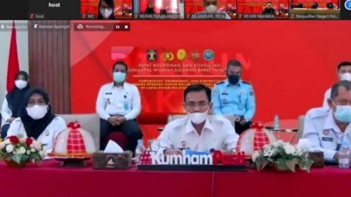 Kemenkumham Gelar Forum Dilkumjakpol, Anwar: Harmonisasi dan Sinkronisasi